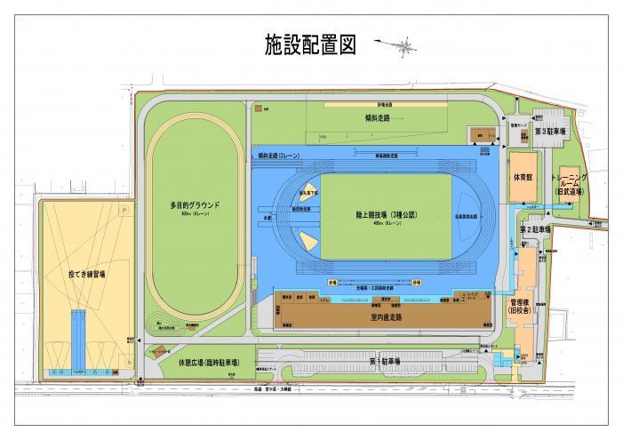 陸上競技トレーニング施設(仮称)