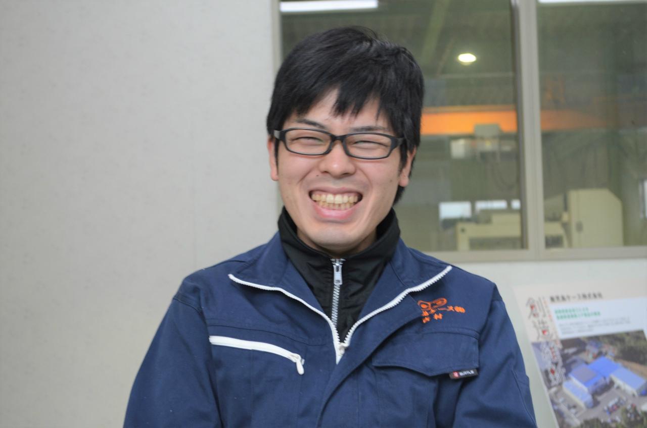 吉村 秀貴(製造部/2017年中途入社)